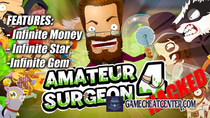 Amateur Surgeon 4 Cheat To Get Free Unlimited Diamonds