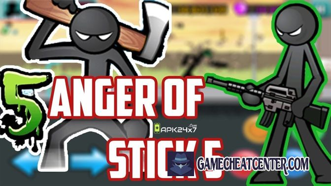 Anger Of Stick 5 Cheat To Get Free Unlimited Gems