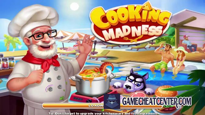 Cooking Madness Cheat To Get Free Unlimited Diamonds