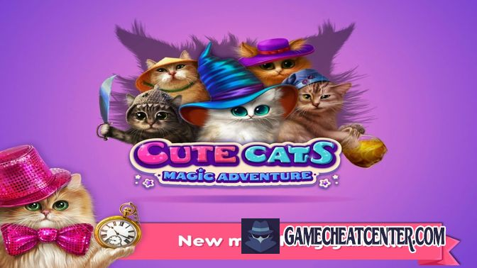 Cute Cats Cheat To Get Free Unlimited Coins