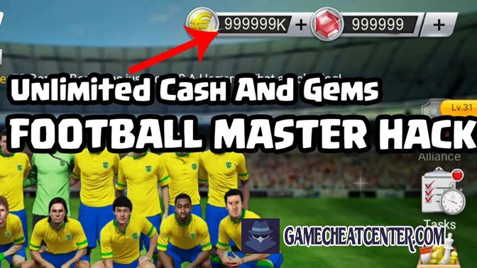 Football Master 2018 Cheat To Get Free Unlimited Gems