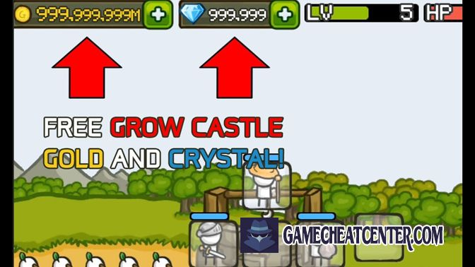 Grow Castle Cheat To Get Free Unlimited Crystals