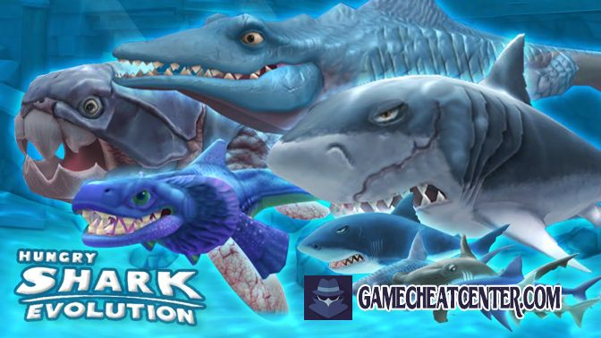 Hungry Shark Evolution Cheat To Get Free Unlimited Gems