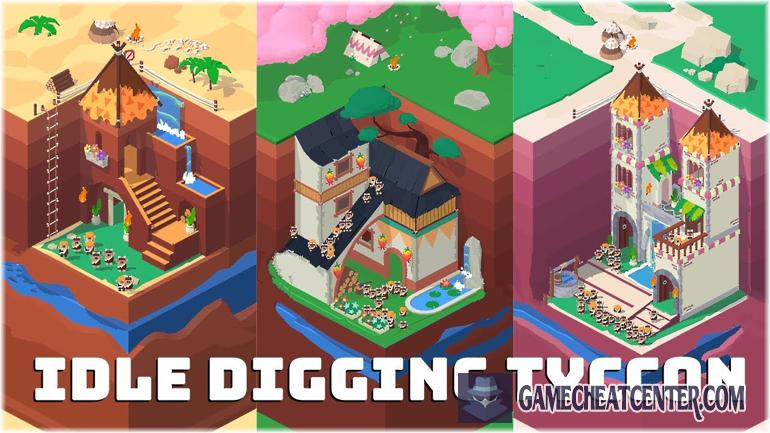 Idle Digging Tycoon Cheat To Get Free Unlimited Diamonds