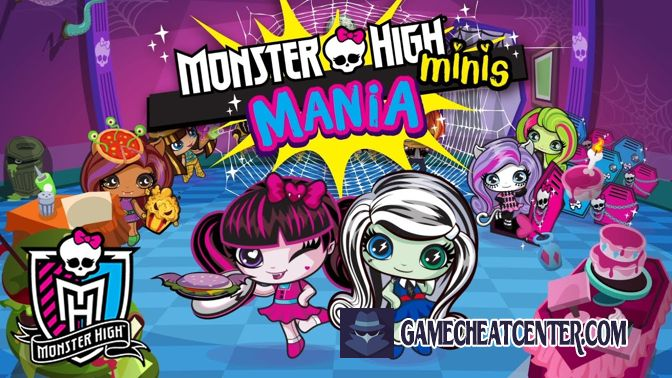 Monster High Minis Mania Cheat To Get Free Unlimited Gems