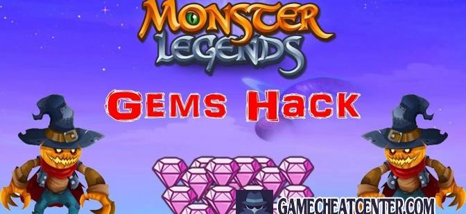 Monster Legends Cheat To Get Free Unlimited Gems